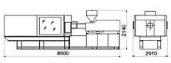 dimensiuni utilaj mase plastice cmg5000